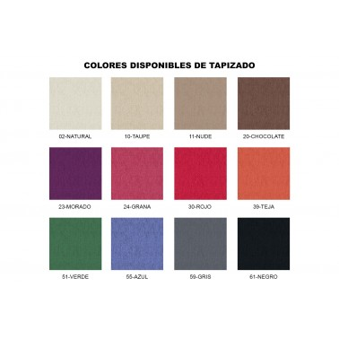 CABECERO TAPIZADO CON TACHUELAS