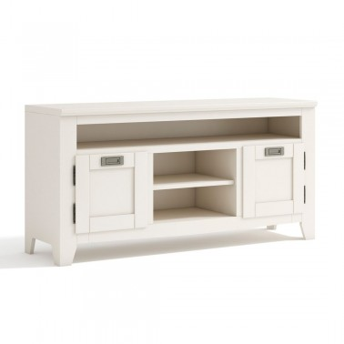MUEBLE TV COLONIAL BLANCO BORNEO