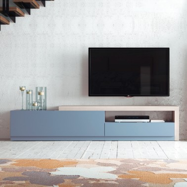 MUEBLE DE TV NORDICO TOYEN LAVANDA MATE