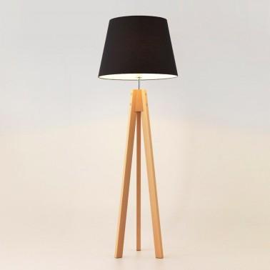 LAMPARA TRYP PANTALLA NEGRA