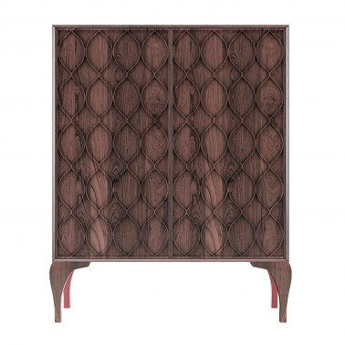 MUEBLE BAR STILETTO EUCALIPTO