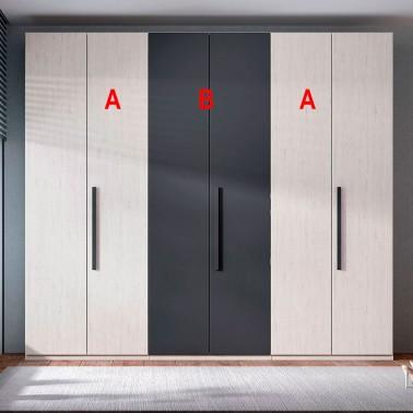 ARMARIO CON 6 PUERTAS MODELO E2605-B