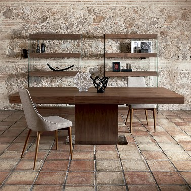 MESA COMEDOR EXTENSIBLE DE DISEÑO ITALIANO VERONA