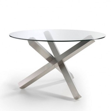 MESA DE COMEDOR CHRONOS GLASS