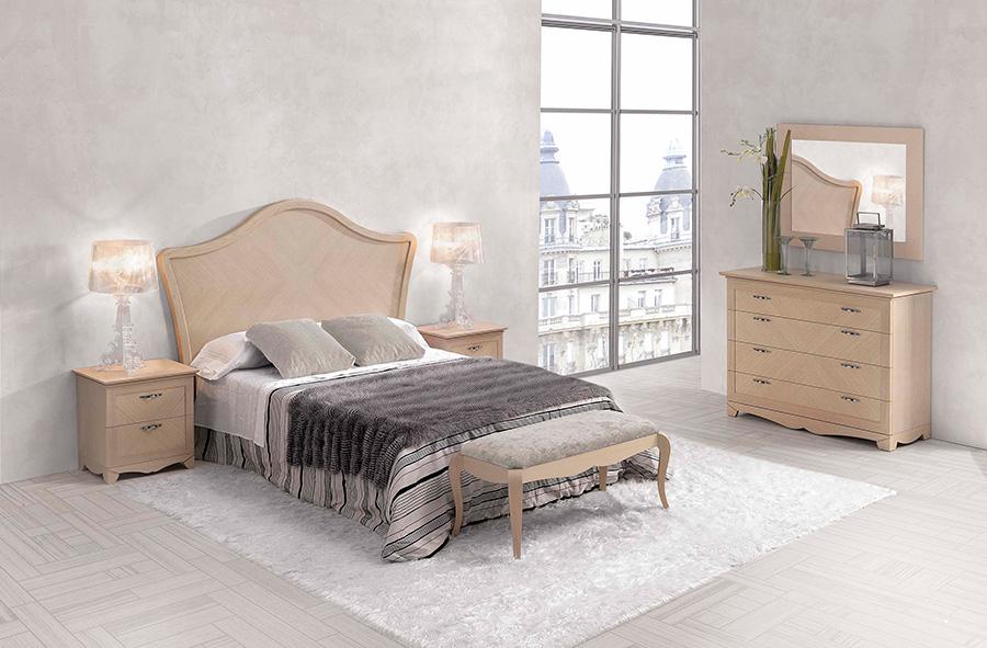 Cabeceros y mesillas para tu dormitorio simple palet with for Mesillas madera natural