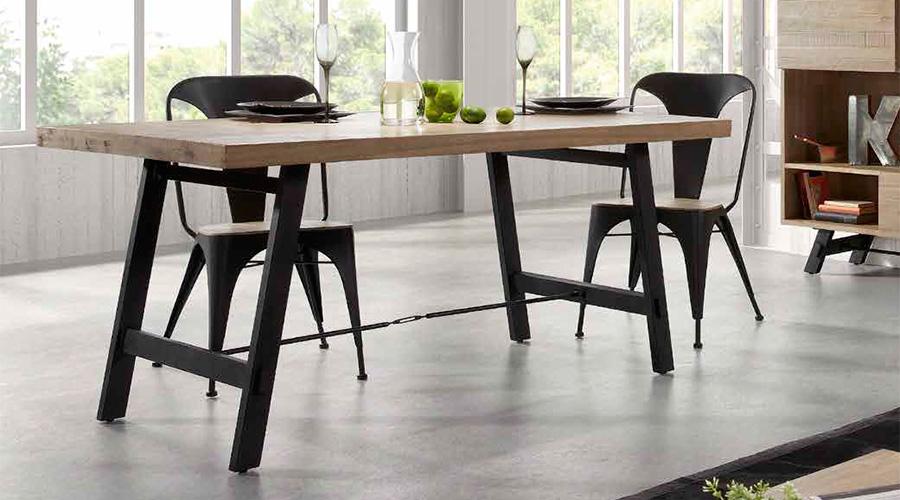Las reinas del comedor una silla para cada estilo blog for Sillas para comedor industrial