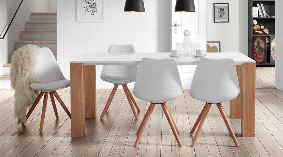 Las reinas del comedor una silla para cada estilo blog for Sillas azules comedor