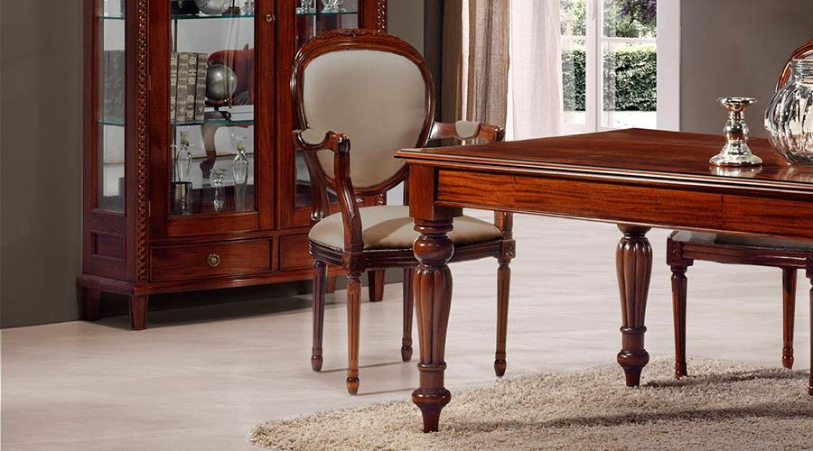 Las reinas del comedor una silla para cada estilo blog for Sillas de comedor con brazos