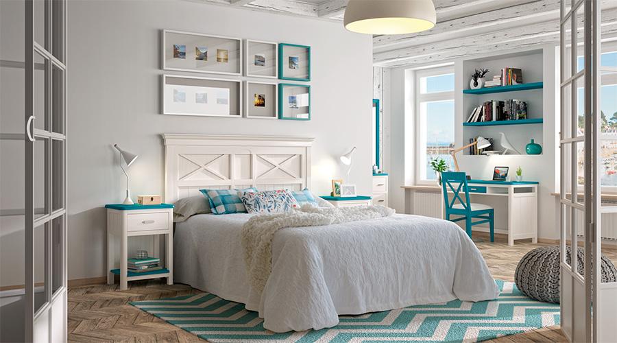 Apuesta por el blanco para darle mas luz a tu dormitorio blog de decoraci n e interiorismo - Luz para dormitorio ...
