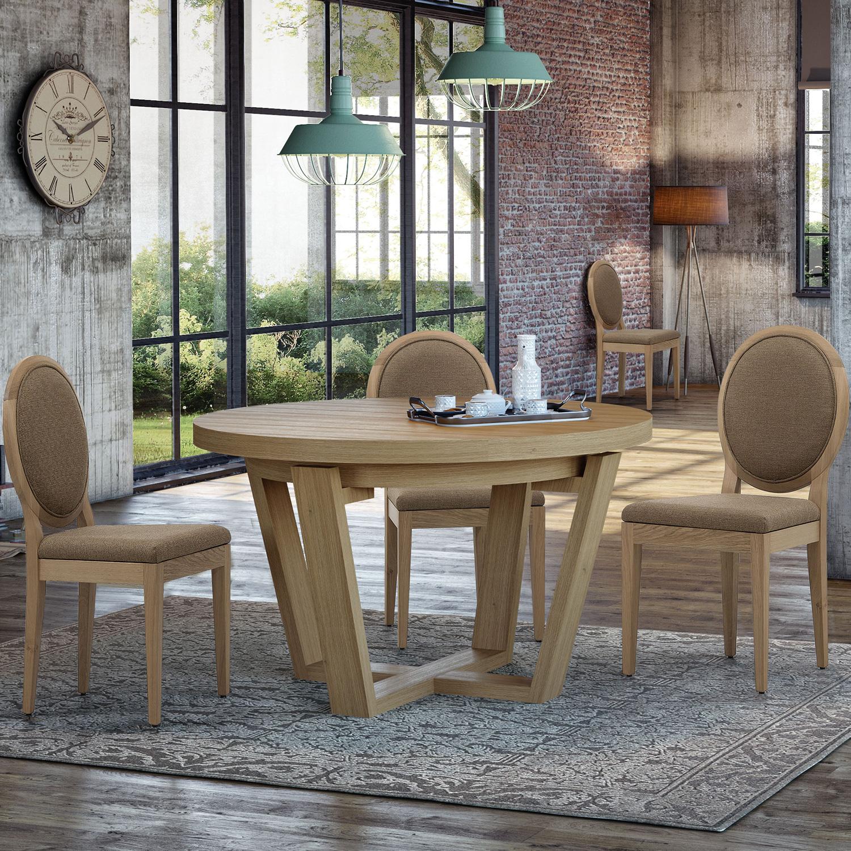 Muebles nórdicos en madera de roble - Blog de decoración e interiorismo
