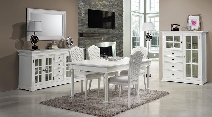 La altura de una mesa de comedor es de 70-75 cm