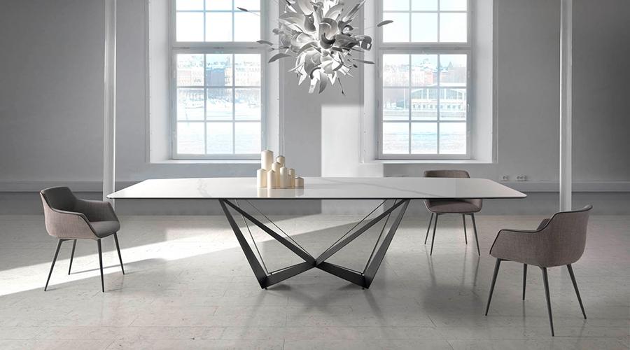 mesa-de-comedor de marmol