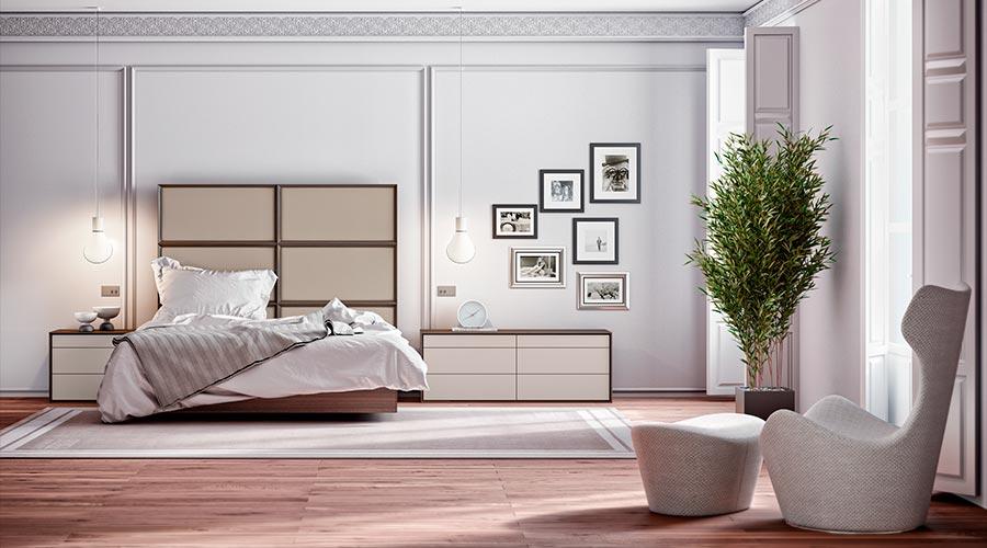 Los tejidos de fibras naturales dan una mayor sensacion de confort al dormitorio