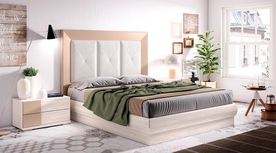 Dormitoro de matrimonio blanco