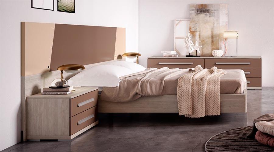 Muebles minimalistas y modernos para dormitorios de matrimonio