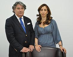 foto de los fundadores de Demarques.es, Asuncion Deza y Angel Sierra