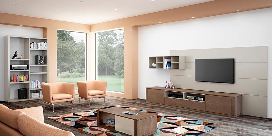 Consejos para decorar salones grandes blog de decoraci n - Interiorismo salones ...