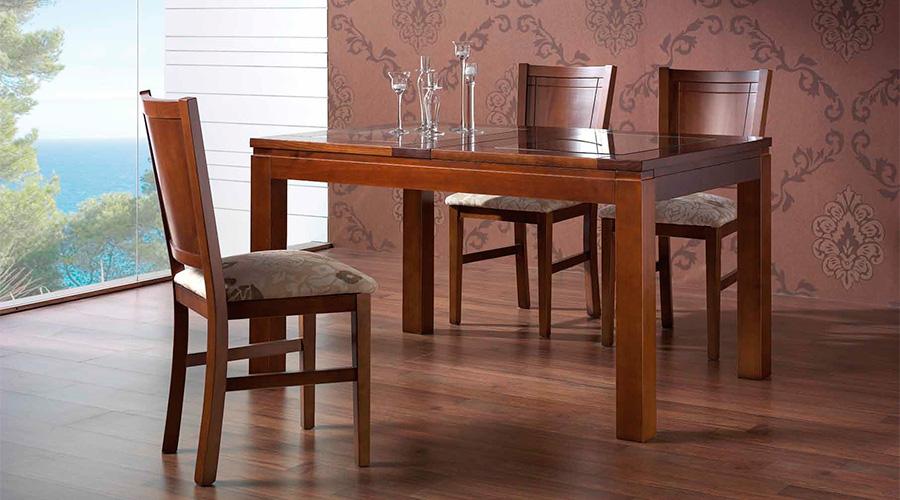 La elegante calidez de los muebles coloniales blog de - Mesa comedor colonial ...