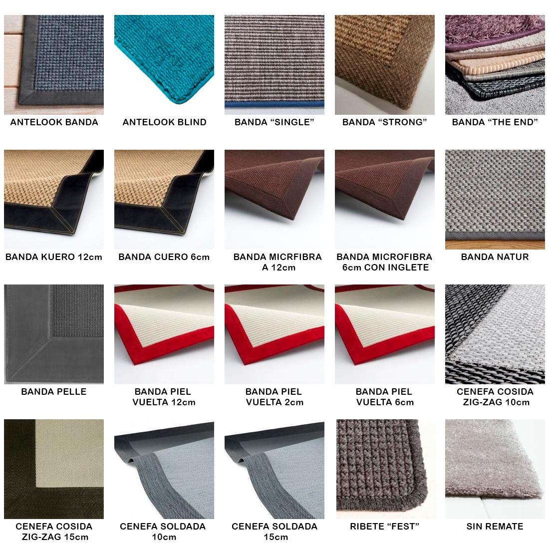 acabados alfombras de vinilo Keplan